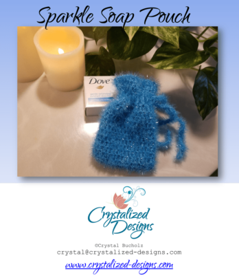 Sparkle Soap Pouch by Crystalized Designs