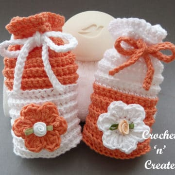 Crochet Bathroom Soap Saver by Crochet 'n' Create