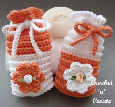 Crochet Bathroom Soap Saver by Crochet 'n' Create