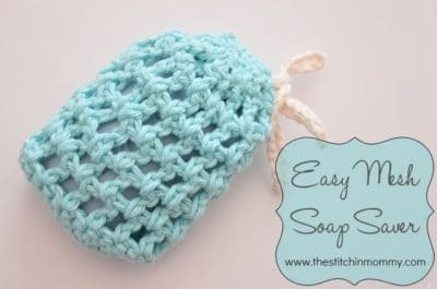 Easy Mesh Soap Saver by The Stitchin' Mommy