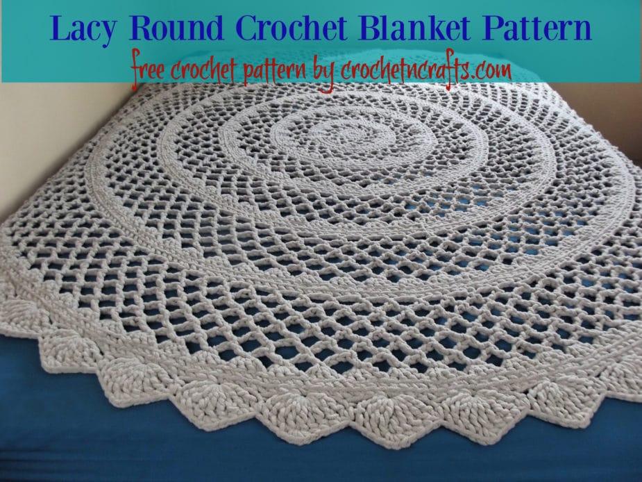 Crochet Round Blankets