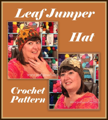 Leaf Jumper Hat by Posh Pooch Designs