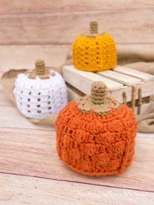 Patchwork Pumpkin Hat by Kirsten Halloway Designs