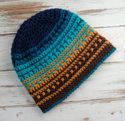 Big Bay Beanie by Crochet 365 Knit Too