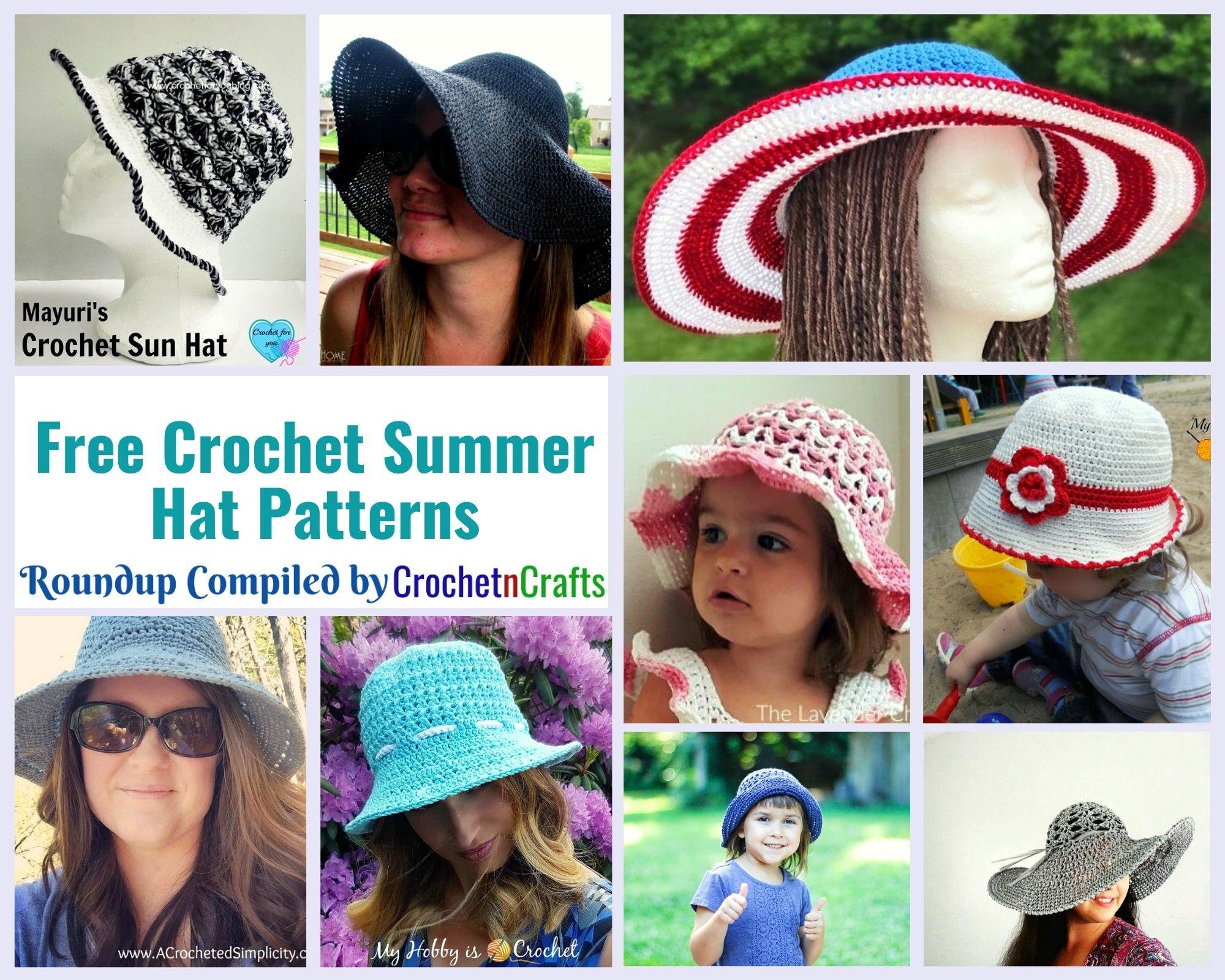 Free Crochet Summer Hat Patterns Crochetncrafts